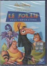 LE FOLLIE DELL'IMPERATORE DVD DISNEY Z3 DV 0050 SIGILLATO!!!