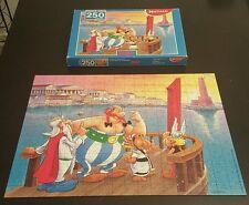 """Astérix puzzle 2000 france ,"""" le phare d'alexandrie """" , 250 pieces"""