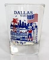DALLAS TEXAS GREAT AMERICAN CITIES COLLECTION SHOT GLASS SHOTGLASS