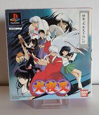 Limited Edition Inuyasha PlayStation NTSC japón RPG Rumiko Takahashi ps1 a2655