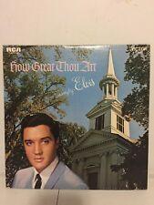 "Elvis Presley ""How Great Thou Art"" Vinyl LP Record. LSP-3758"