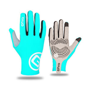 GIYO Touch Screen Long Full Fingers Gel Sport Cycling Gloves Riding Racing MTB