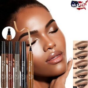 Eyebrow Microblading Fork Tip TINT MY 4-TIP BROW Liquid Pencil Waterproof Tattoo