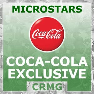 CRMG Corinthian MicroStars COCA COLA COKE MEXICO 2004-06 RED (like SoccerStarz)