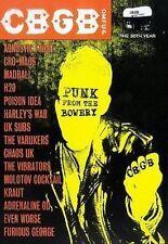 CBGB LIVE OMFUG PUNK FROM THE BOWERY 30th YEAR MVD REGION FREE DVD NEW & SEALED