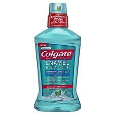 Colgate Enamel Health Fluoride Mouthwash, Sparkling Fresh Mint 16.90 oz 3pk