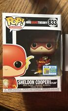 Funko Pop! Big Bang Theory: Sheldon Cooper As The Flash SDCC 2019 Exclusive