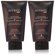 Alterna Bamboo Men Nourishing Conditioner and Shaving Cream 8.5oz (2-PACK)