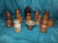 More details for job lots - 12 small salt glazed ink wells / pots in each, discount for multiples