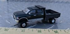 1/64 CUSTOM dodge 2 tone 2500 cummins 4 door dump bed pickup truck ERTL farm toy