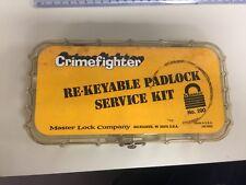 MASTER LOCK COMPANY RE-KEYABLE PADLOCK SERVICE KIT