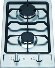 Ramblewood GC2-43P (LPG/Propane Gas) high efficiency 2 burner gas cooktop