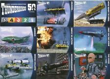 Thunderbirds 50 Years Full 54 Card Base Set of Trading Cards - Unstoppable Cards