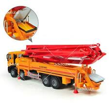 Orange 1:55 Concrete Pump Truck Construction Vehicle Diecast Model Car KaiDiWei