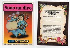 figurina Set Completo - MEGA SGORBIONS 1990 2° SERIE