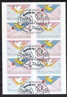 BRD 2010 Folienblatt 12a mit MiNr. 2827-2828 ESST Bonn Post Grußmarken