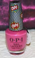 Opi Pop Culture Collection Summer 2018 Nail Lacquer Polish Pink Bubbly Le - New!
