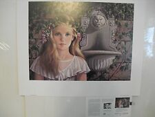 """PATI BANNISTER """"The Fountain"""" Print Signed and Numbered"""