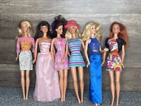 Vintage Mattel Mego Barbie Ken Doll Blonde 1968 Males 1999 Females LOT of 10