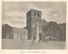 C5034 Trieste - Cattedrale di San Giusto - Stampa d'epoca - 1895 vintage print
