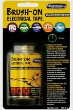 Blue Magic BRUSH-ON ELECTRICAL TAPE Flexible Rubber Quick Drying Waterproof 4 oz
