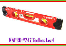 """KAPRO #227 TOOLBOX 9"""" Level Picture Hanging with Magnet Size: 230 x 180mm x 1"""