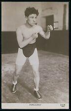 Mascart Europe Sports Boxing original old 1920s photo postcard