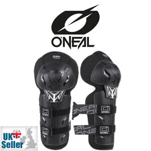 Oneal Pro 3 Motocross Knee Shin Guards Carbon Look One Size ATV BMX MTB