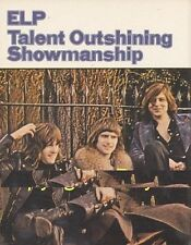 ELP : Talent Outshining 1974 UK Book Article