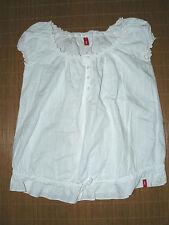 Esprit Damenblusen,-Tops & -Shirts im Blusen-Stil mit Rundhals ohne Muster
