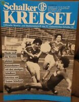 FC Schalke 04 Schalker Kreisel Magazin 22.08.1987 Bundesliga Kaiserslautern /610