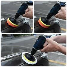 6x 3 Inch Sponge Buffing Polishing Pad Kit for Car Polisher with Drill Adapter