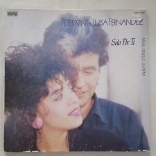 """PETER KENT & LUISA FERNANDEZ SOLO POR TI / SE QUE TE IRAS  12"""" MAXI SINGLE LP"""