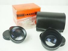 IMADO Telephoto and Wide Angle Lens Set for Canon Super Sureshot AF35M