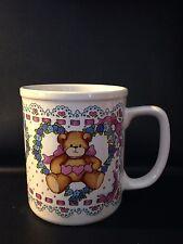 Lucy & Me Lucy Rigg Enesco 1993 Teddy Bear Coffee Mug Cup 19