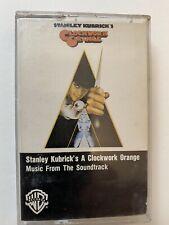 New listing A Clockwork Orange Stanley Kubrick Music From Soundtrack cassette tape movie