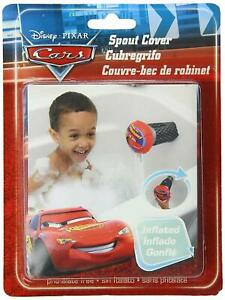 Spout Cover  Disney Cars Inflatable Safety   Red Fit over Most Standard Faucets