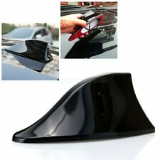 Universal Car Shark Fin Roof Antenna Radio FM/AM Signal Decorating Aerial Black