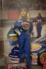 BARBIE Collector Edition 1998 Mattel 1948-1998 50th Anniversary NASCAR