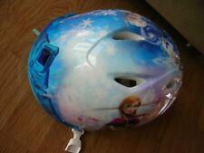 Disney Frozen Kids Toddler Bike Helmet With Tiara 48-52 CM Elsa Anna Olaf