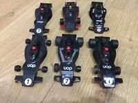 Scalextric Car UOP Shadow Black C012 Job Lot Of 6 Cars