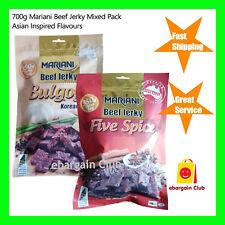 700g Premium Australian Mariani Beef Jerky Asian Bulgogi Five Spice eBargainClub