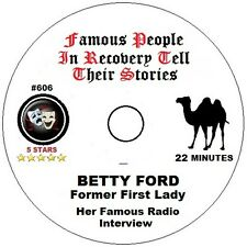Alcoholics Anonymous AA 12 Step Speaker CD -  Betty Ford - Her Story
