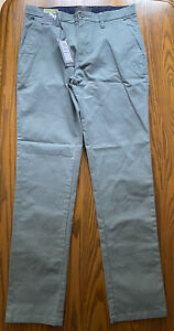 """M&S Collection men's Slim Fit Stretch Chinos W30"""" x 31"""" BNWT"""