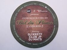 Beer Coaster: FALSTAFF & Lokerse Badminton Club 2014 Bal des Plumes ~ Lozen Boer