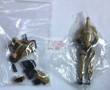 "VALKYRIES SIERRA OPS Dark Tan & Black Marauder GI JOE CON 2018 4"" Inch Exclusive"
