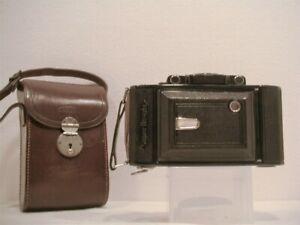 Zeiss Super Ikonta C w/10.5cm f/4.5 Tessar Lens, Case & O/M; Near Mint & CLA!