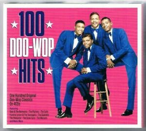 100 Doo-Wop Hits - 4er CD mit 100 Titel 50er + frühe 60er Jahre / 4er CD Neuware