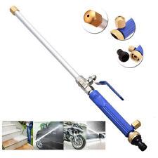 Garden Hose High Pressure Power Washer Water Spray Gun Nozzle Wand Deck Car Wash