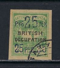 1920 Batum Scott 52 cancelled & signed